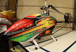 The Align T-REX 700E PRO DFC is a great looking helicopter that flies and performs better than I anticipated. Click image to enlarge & Align T-REX 700E PRO DFC Flybarless Helicopter - FlyingRC.net